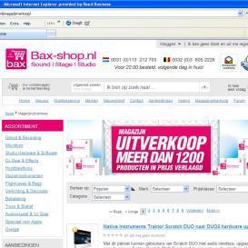 Bax-shop.nl reduceert logistieke faalkosten met Slim4
