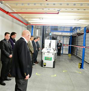 Nieuw distributiecentrum voor Merak met AGV's
