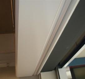 Energiezuinig luchtgordijn met EC ventilator