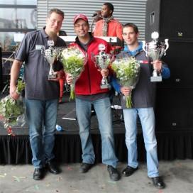 Heftruckchauffeur van Geodis wint 'Linde HeftruckCup 2012