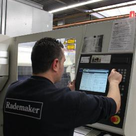 Rademaker: efficiënte procesondersteuning voor machinebouwindustrie