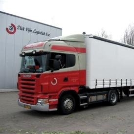 Dick Vijn Logistiek bespaart op brandstof en communicatie