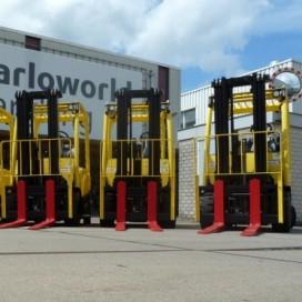 Barloworld levert vijf elektrische heftrucks aan Soffritti