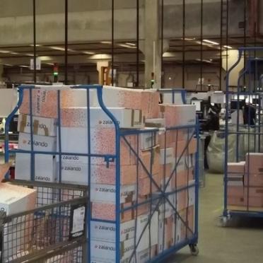 Barre arbeidsomstandigheden in magazijn Zalando