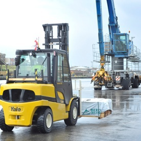 Forkway pakt materials handling Shoreham Port aan