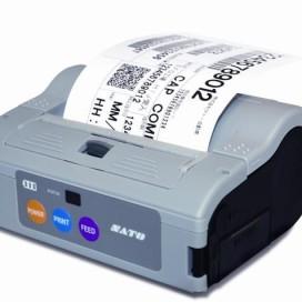Mobiele printer van SATO in linerless uitvoering