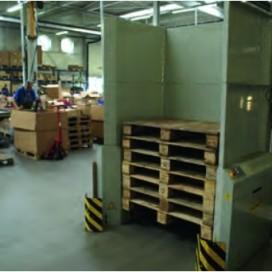 Palletautomaat verbetert ergonomie en veiligheid