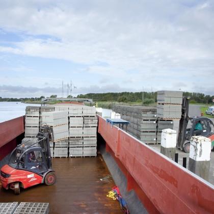 Modal shift scheelt 7 miljoen ton aan bouwmaterialen over de weg
