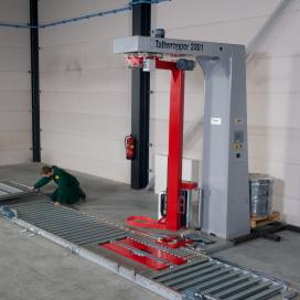Tallpack ontwikkelt nieuwe modulaire palletwikkellijn