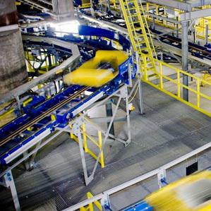 Siemens stapt uit material handling