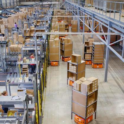 Logistiek vastgoed crisisproof en het 'Oranje' van Timberland