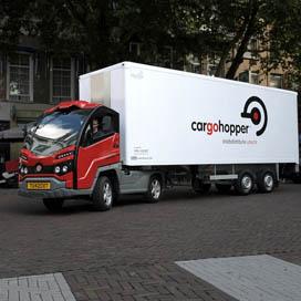 Enschede stapt over op Cargohopper