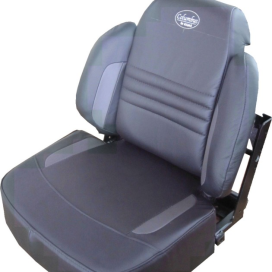Mini-uitvoering en stoel met hoge rug van Columbus