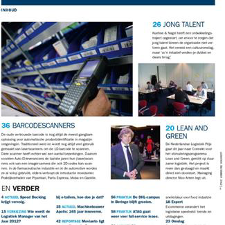 Logistiek Magazine, december 2012