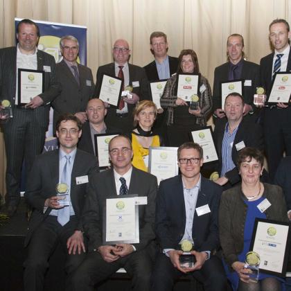 Eerste Lean and Green awards België uitgereikt
