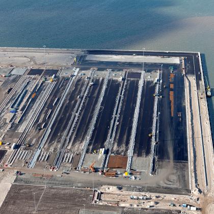 Megaproject APM-terminal op Maasvlakte 2 krijgt vorm
