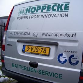 Hoppecke Batterijen haalt VCA** certificaat