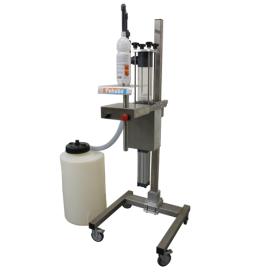 Afvulmachine voor zeer agressieve vloeistoffen