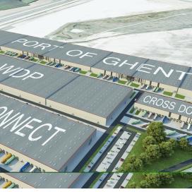 Startschot nieuw Europees logistiek platform Gent