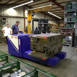 PTB levert op maat gemaakte matrijzen transporter