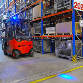 Geodis verhoogt veiligheid magazijn met Blue Spot