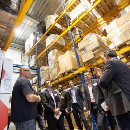 Acht vooraanstaande dc's krijgen bezoek: Logistiek Live 2013