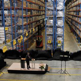 Forbo Flooring neemt nieuw magazijn in gebruik