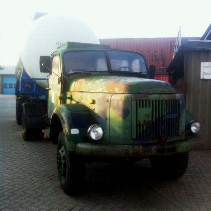 Oudste vrachtwagen van Nederland