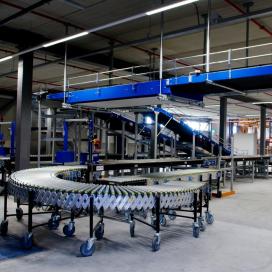 Van Riet levert sorteersysteem nieuw dc VanHaren