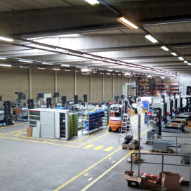 Egemin opent testcenter voor AGV's