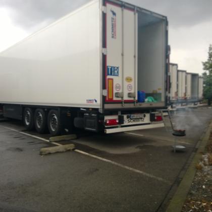 Pas op: nieuwe techniek leegroven vrachtwagens