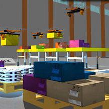 Nedpack: 'Toekomst voor drones bij palletiseerprocessen