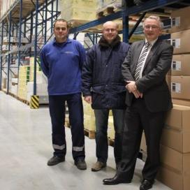 Vriesmagazijn Bakeplus duurzamer dankzij LED-verlichting