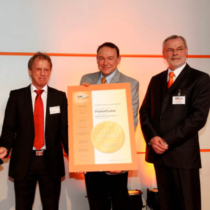 Palletcube wint Logimat 'Best Product Award