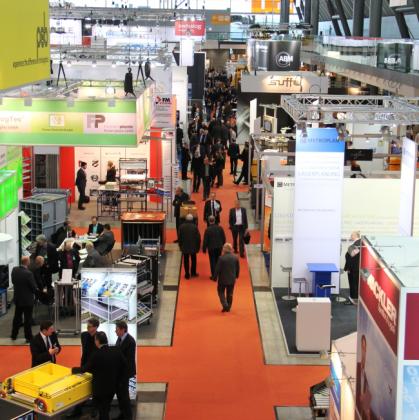 Material handling sector doet goede zaken in Stuttgart
