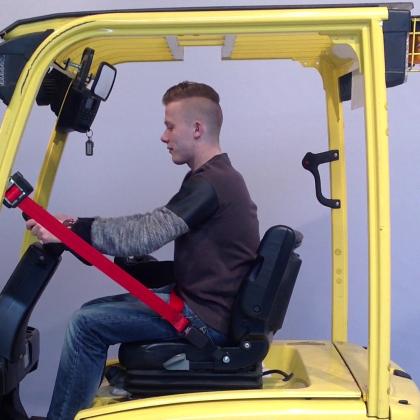 Savas introduceert nieuwe heftruckgordel