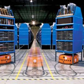 Amazon's warehouserobots nader bekeken