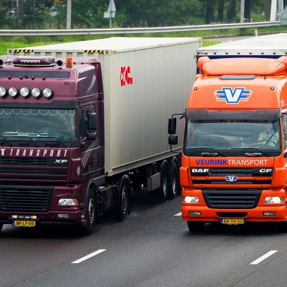 Nederlands wegvervoer: vooral korte ritten