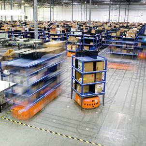 Kiva: logistiek succesverhaal van material handling toepassing