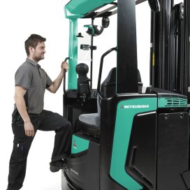 CeMAT 'must see' – Mitsubishi reachtruck in 11 varianten