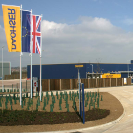 Dachser opent logistiek centrum in Northampton