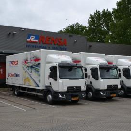 Dertien nieuwe Renault trucks voor Rensa