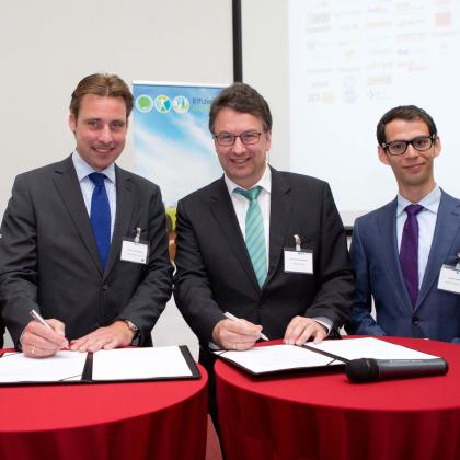 Samenwerking Green Logistics en GreenFreight Europe