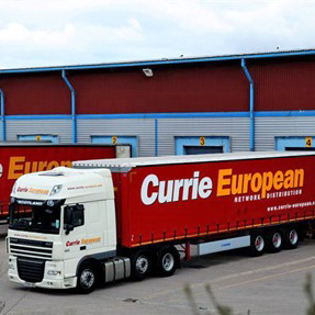 Currie European Transport zet Kewill MOVE-platform in