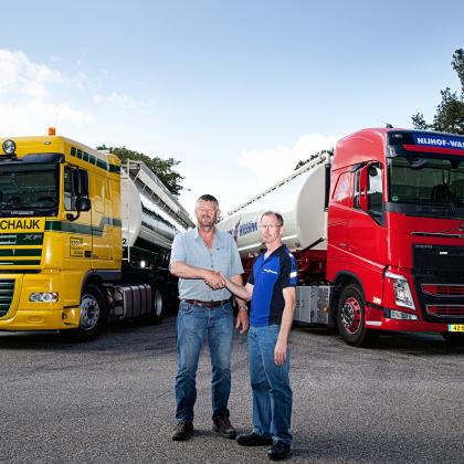 R. Vos Transporten en Nijhof-Wassink gaan samenwerken