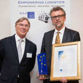 Skoda en Alex van Breedam winnen Gold Medal in Logistics