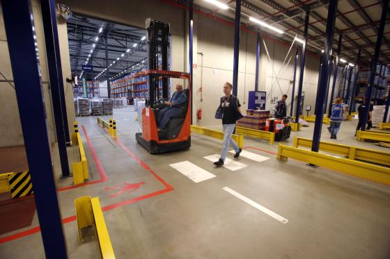 Heeft DSV het 'veiligste magazijn van Nederland'?