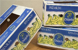 Retourproducten in Chiquita-dozen
