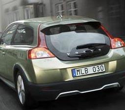 Volvo C30-ophaalactie bevat logistieke adder