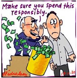 Beware of the big spender